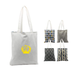 Double-Sided Cotton Tote Bag