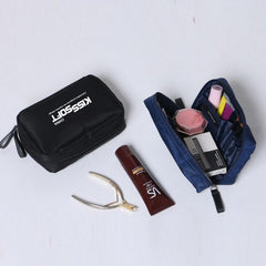 Rectangular Travel Pouch With Internal Compartments