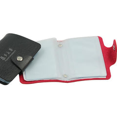 Card Organiser With 12 Card Pockets And Coloured Cover