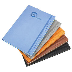 Notebook with Ruler Design