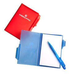 Mini Notebook Set With See-Through Coloured Cover