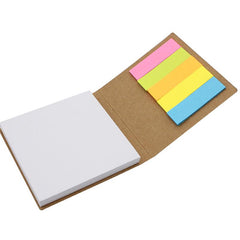 Square Notepad And Sticky Flag Set