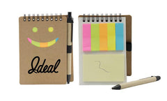 Smiley Face Design Notepad Set