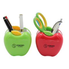Cartoon Apple Pen Holder