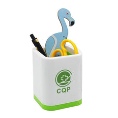 Multifunctional Square Plastic Pen Holder
