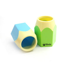 Cute Coloured Plastic Pen Holder