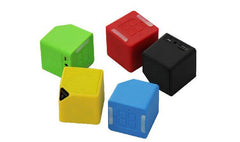 Cube-Shaped Wireless Bluetooth Speaker