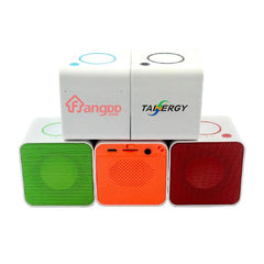 Cube-Shaped Bluetooth Speaker For Cars
