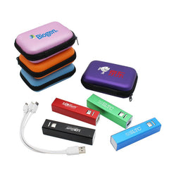 Stick-Shaped Portable Power Bank Set