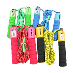 Skipping Rope With Grooved Eva Handles