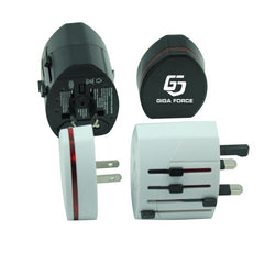 Universal Power Adapter With 4 Plug Types
