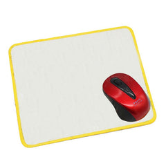 Mousepad with Coloured Stitched Edges
