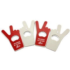 Peace Sign Magnetic Bottle Opener