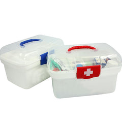 Small First Aid Kit With Clear Cover