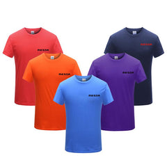 Cotton Short Sleeve Round Neck T-Shirt