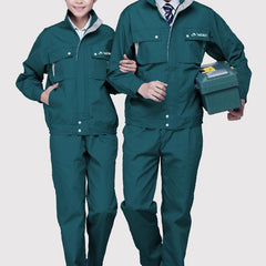 Long-Sleeved 2-Piece Coveralls