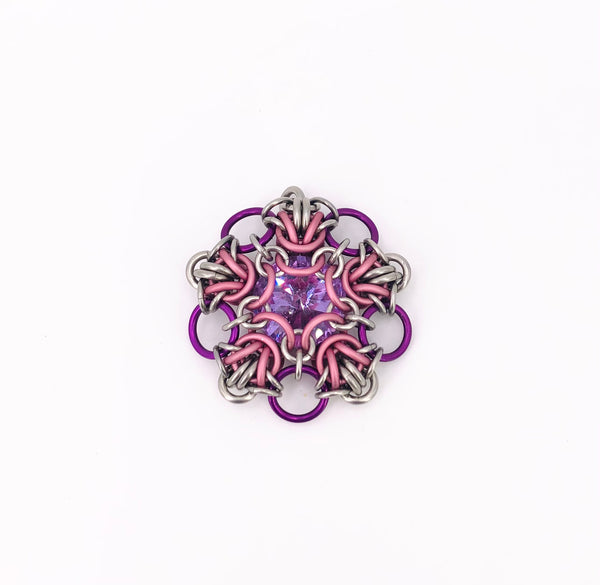 Acherner Star with Center Stone Ornament/Pendant