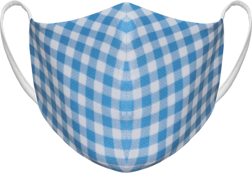 GINGHAM - BLUE - DOME