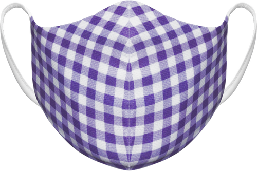 GINGHAM - PURPLE - DOME