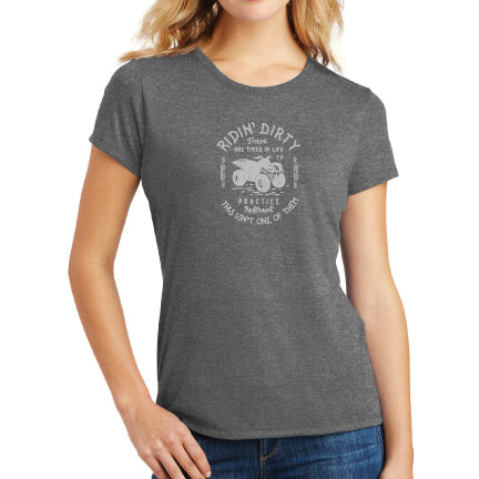 Alter ATV Lady Tee- Grey