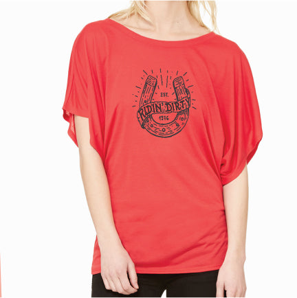Charmed Lady Top- Red