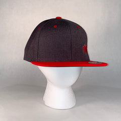 Instigator Charcoal/Red Hat
