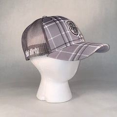 Triton Grey Plaid Hat