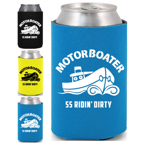 Motorboater Can Koozie