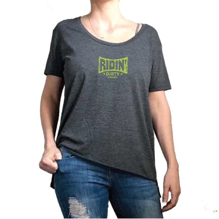 Septelle Lady Tee- Charcoal