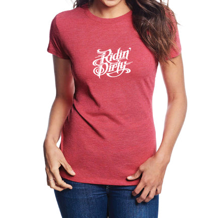 Staten Lady Tee- Red