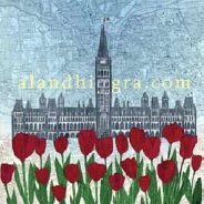 Ottawa Parliament Buildings Magnet