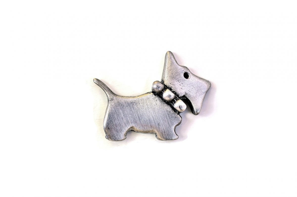 Magnet Single Scottie Dog
