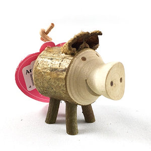 Wooden Pig Standing sm