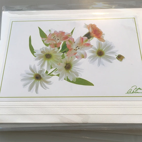 Art Card Flower Bouquets
