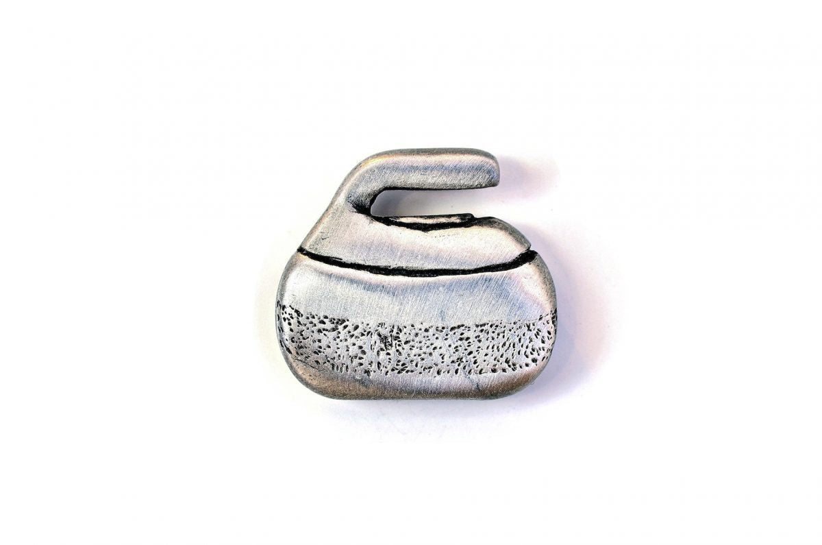 Magnet Single Curling Stone