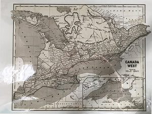 Map Southern Ontario