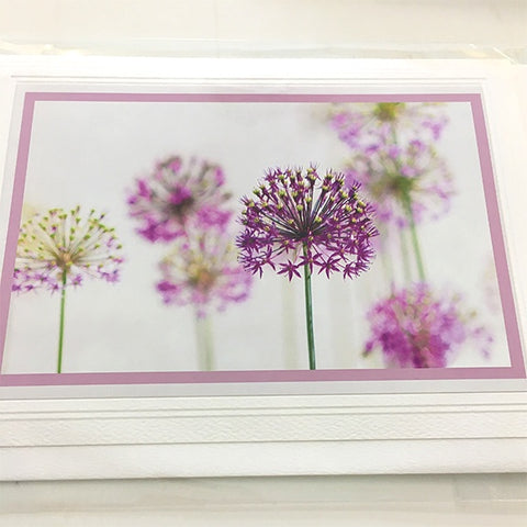 Art card Allium #2