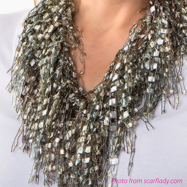 Scarf Gem Lace
