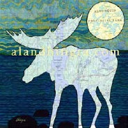 Art Card, Algonquin Moose C218