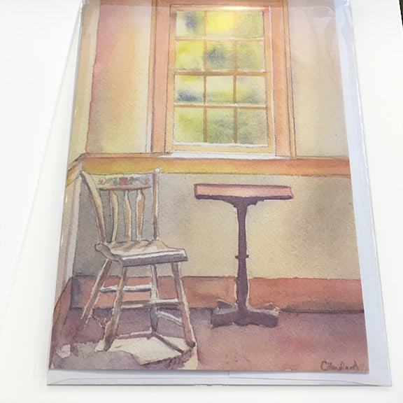 Art Card Sunlit Room