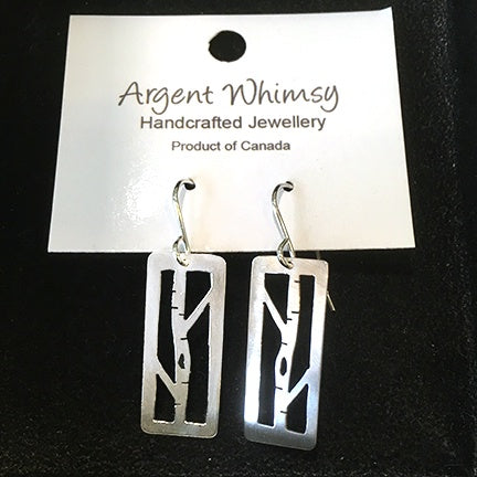 Earrings Birch Tree