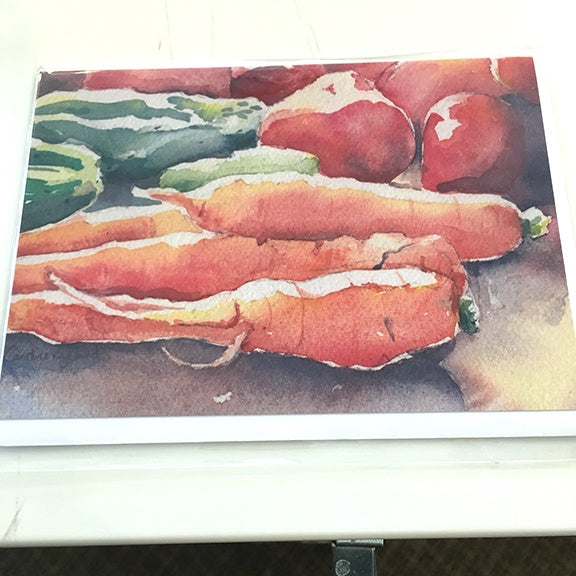 Art Card, Vegetables