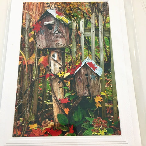 Art card Birdhouses