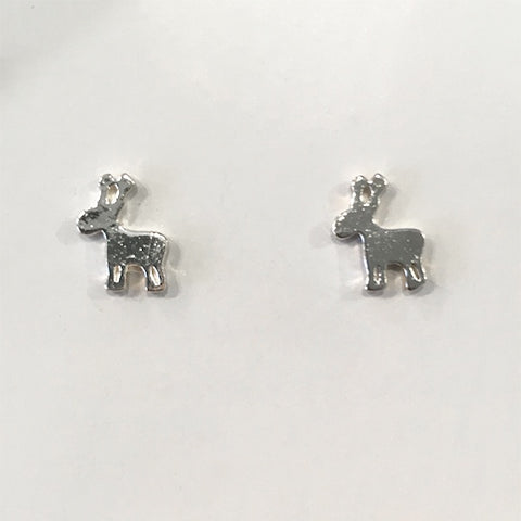 Reindeer stud earrings