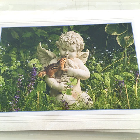 Art card, Garden Angel