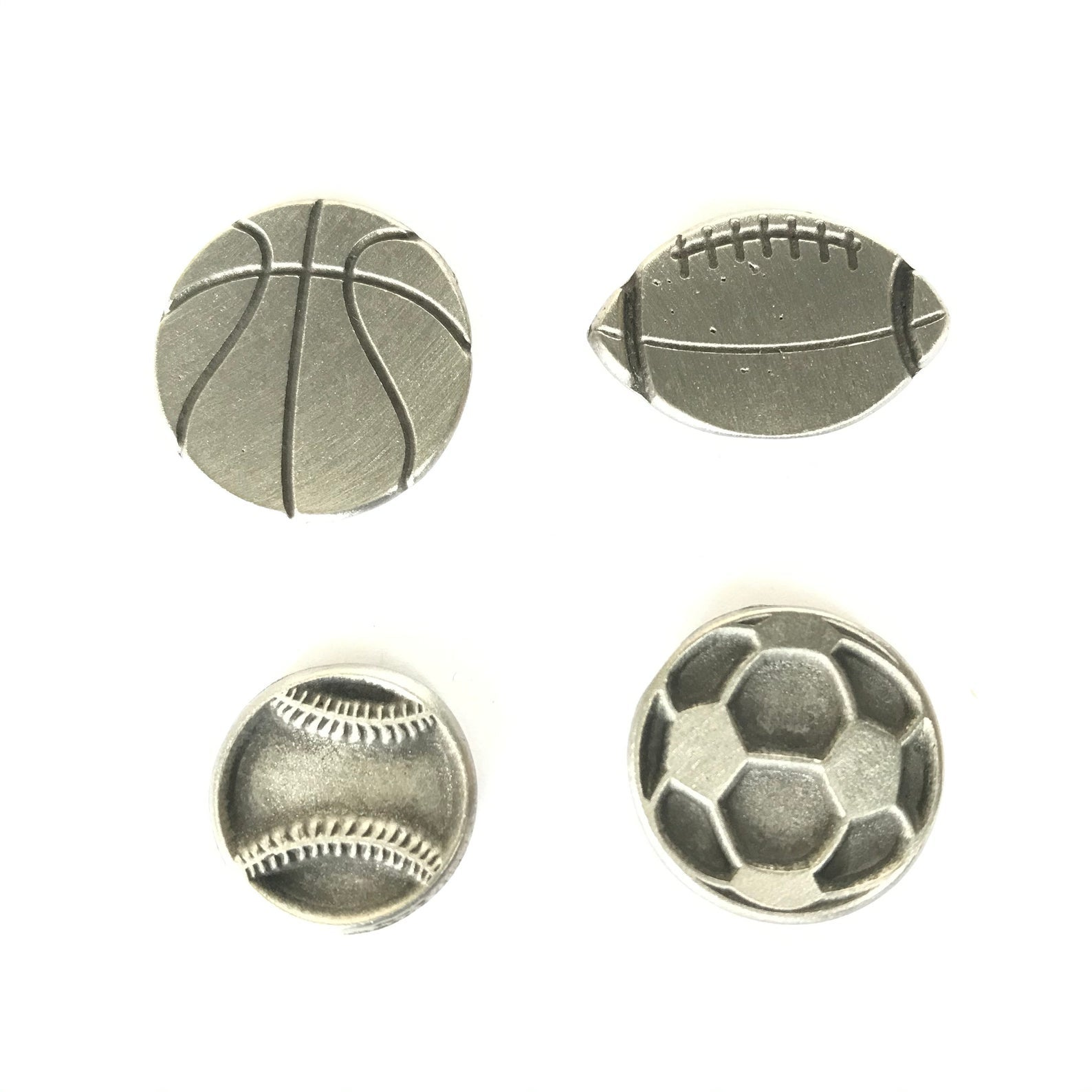 Magnet Set of 4 Sports balls
