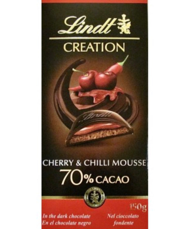 Lindt - Creation - Cherry & Chilli Mousse - 150g - NOVITA'