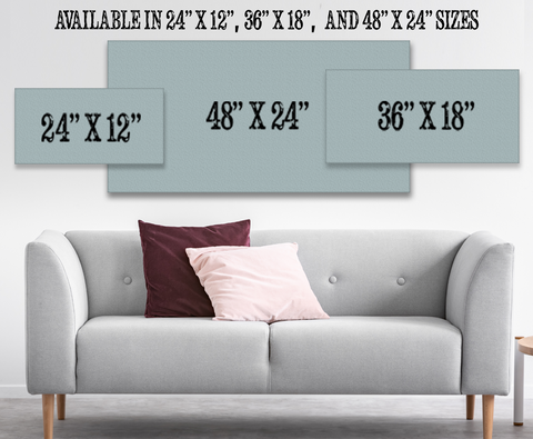 Horizontal Canvas Sizes
