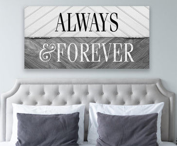 Always and Forever - Canvas.