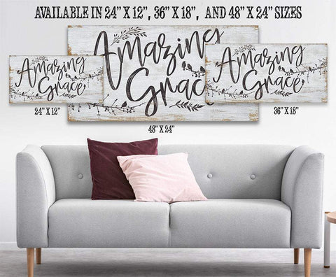Image of Amazing Grace - Canvas.